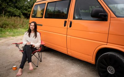 How I remotely work in my campervan