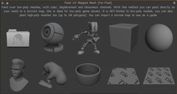PBR texturing in 3D Coat Tutorial - Paint UV Mapped Mesh window