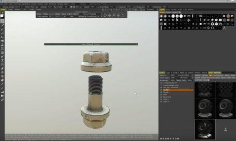 3D Coat PBR texturing