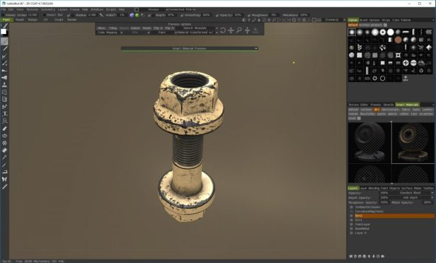 PBR texturing in 3D Coat Tutorial - Hand painted dirt