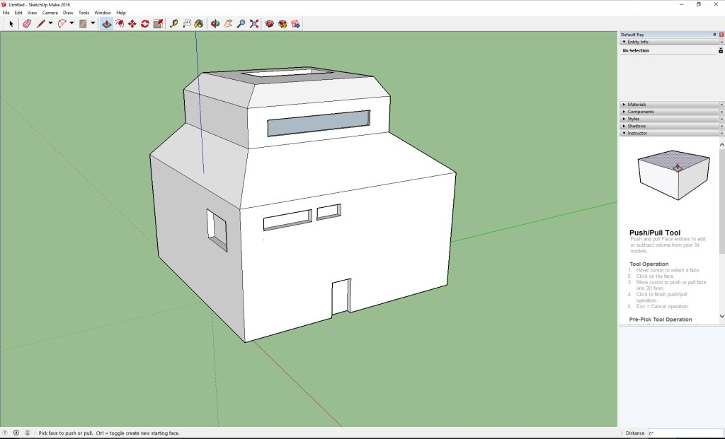 Getting into 3D modelling and animation with Sketchup