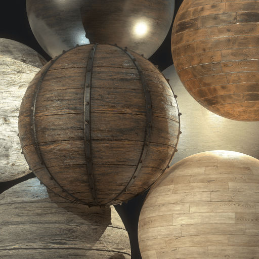 Wood Substance Collection (7 different wood substances) is now available in my Gumroad.