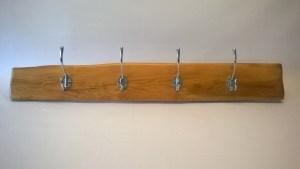 four hook yew coat rack