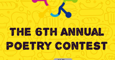 The 6th annual poetry contest