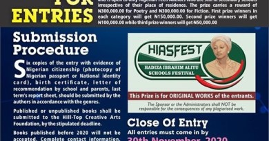 The Nigerian Prize for Teen Authors