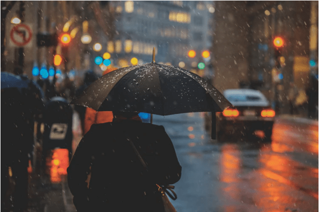 The mood and tone of a poem about rainy days (tips and examples)