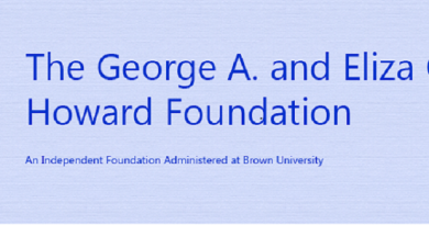 The George A. and Eliza Gardner Howard foundation fellowship