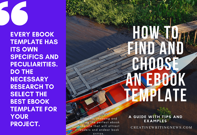 How to choose an ebook template