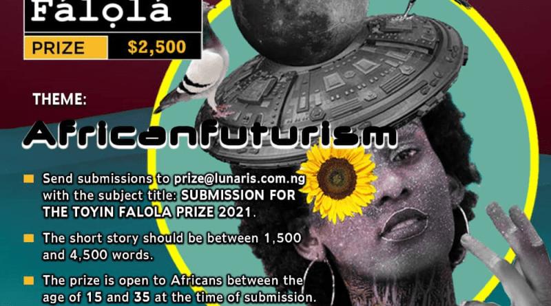Toyin Falola Prize 2021