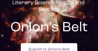 Orion's Belt Call for Submissions
