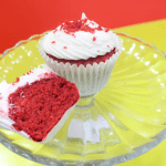 a picture of red velvet cake