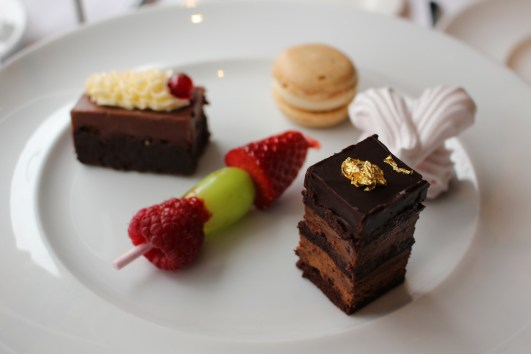 a photo of gluten free desserts at The G Hotel