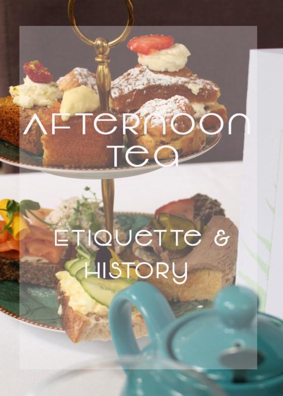 Afternoon Tea Etiquete