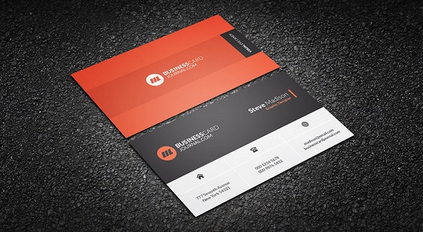 Advance Metro Style Business Card Template