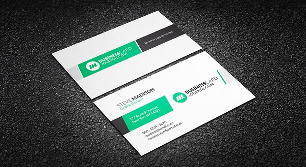 Clean & Elegant Creative Business Card Template