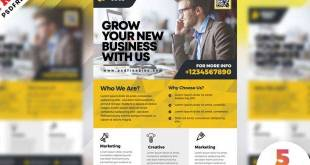 Corporate Flyer Design PSD Templates Free