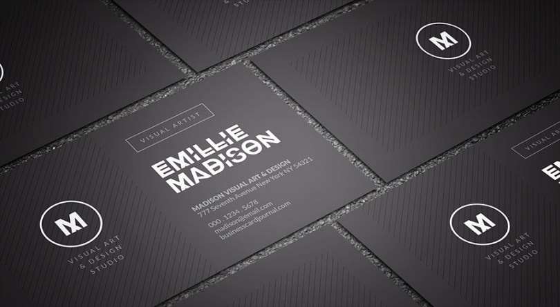Exquisite & Modern Individual Business Card Template
