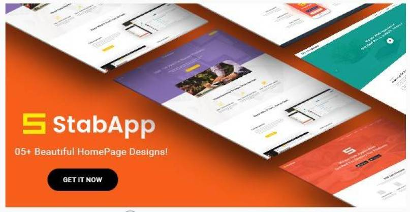 StabApp wordpress theme