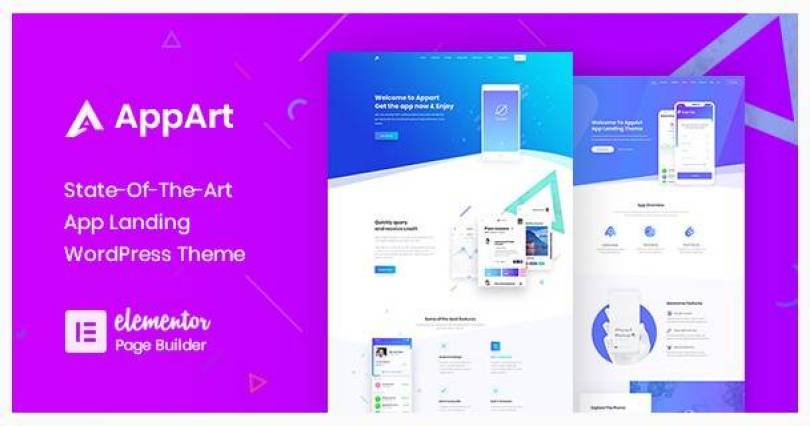 AppArt wordpress theme