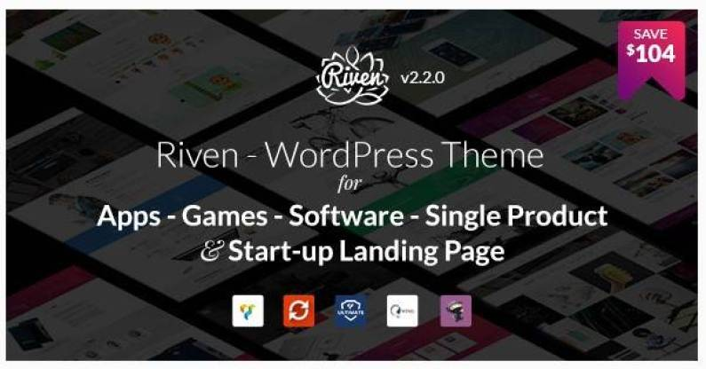 Riven wordpress theme