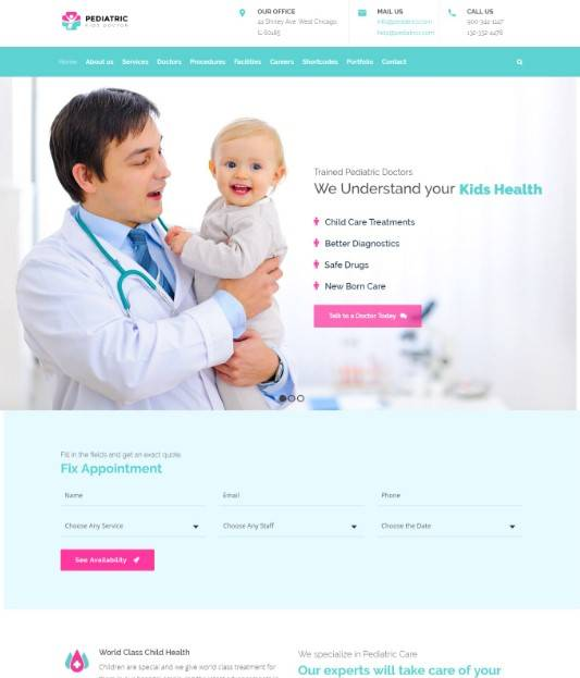 Medi Clinic | Health, Medical Theme