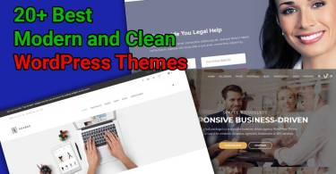 Modern Clean WordPress Themes