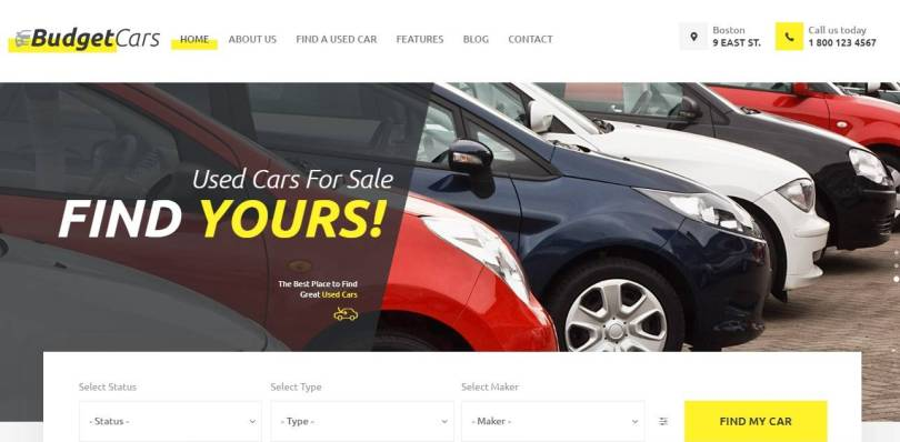 Best Car Dealer WordPress Themes