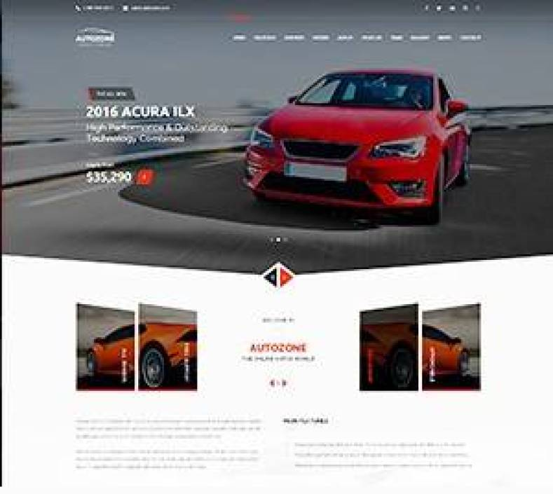 Autozone wordpres theme