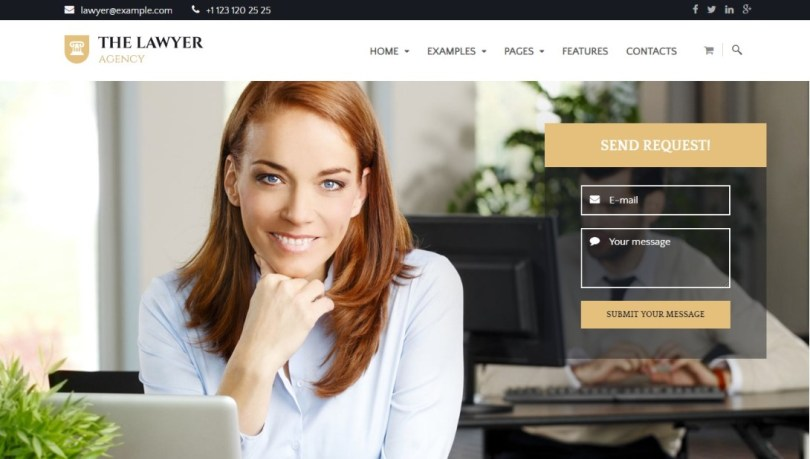 The Lawyer - Law Firm WordPress Theme