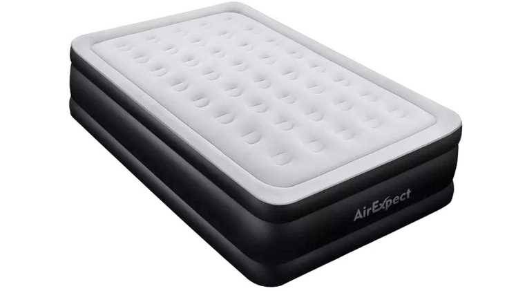 Soundasleep Air Mattress With Built In Pump Queen Blow Up Inflatable Bed Airbed