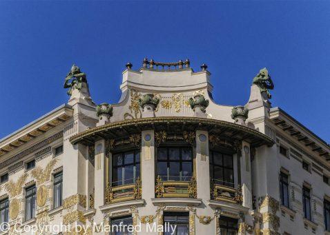 Jugendstil Haus Fassade Wien