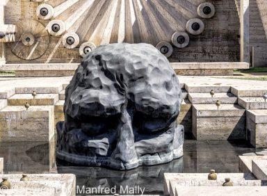 Brunnen Wahrzeichen von Jerewan