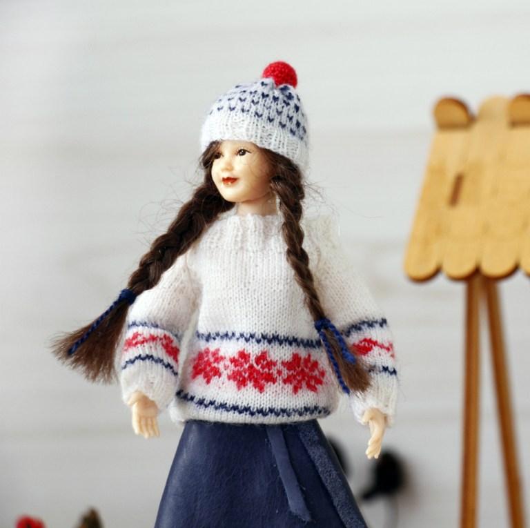 Heidi Ott dolls sweaters