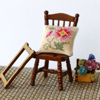 Dollhouse pillow