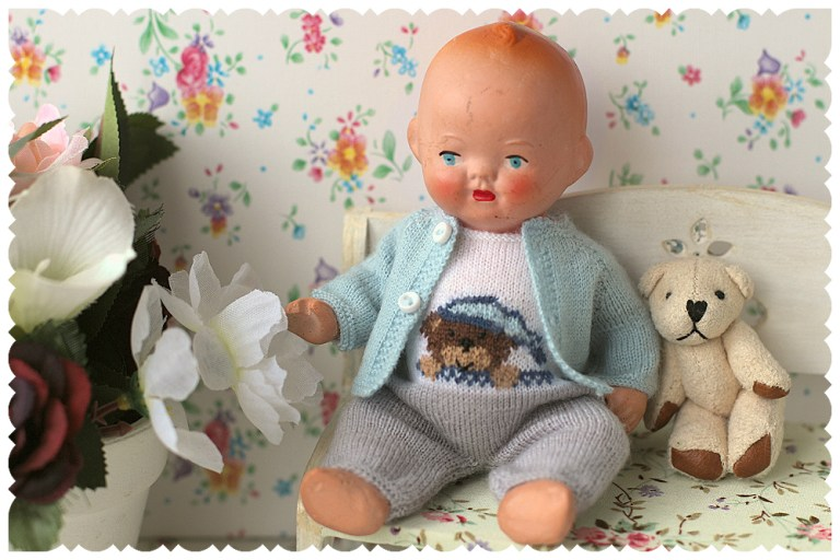 """Vintage Dolls marked """"Made in occupied Japan""""."""