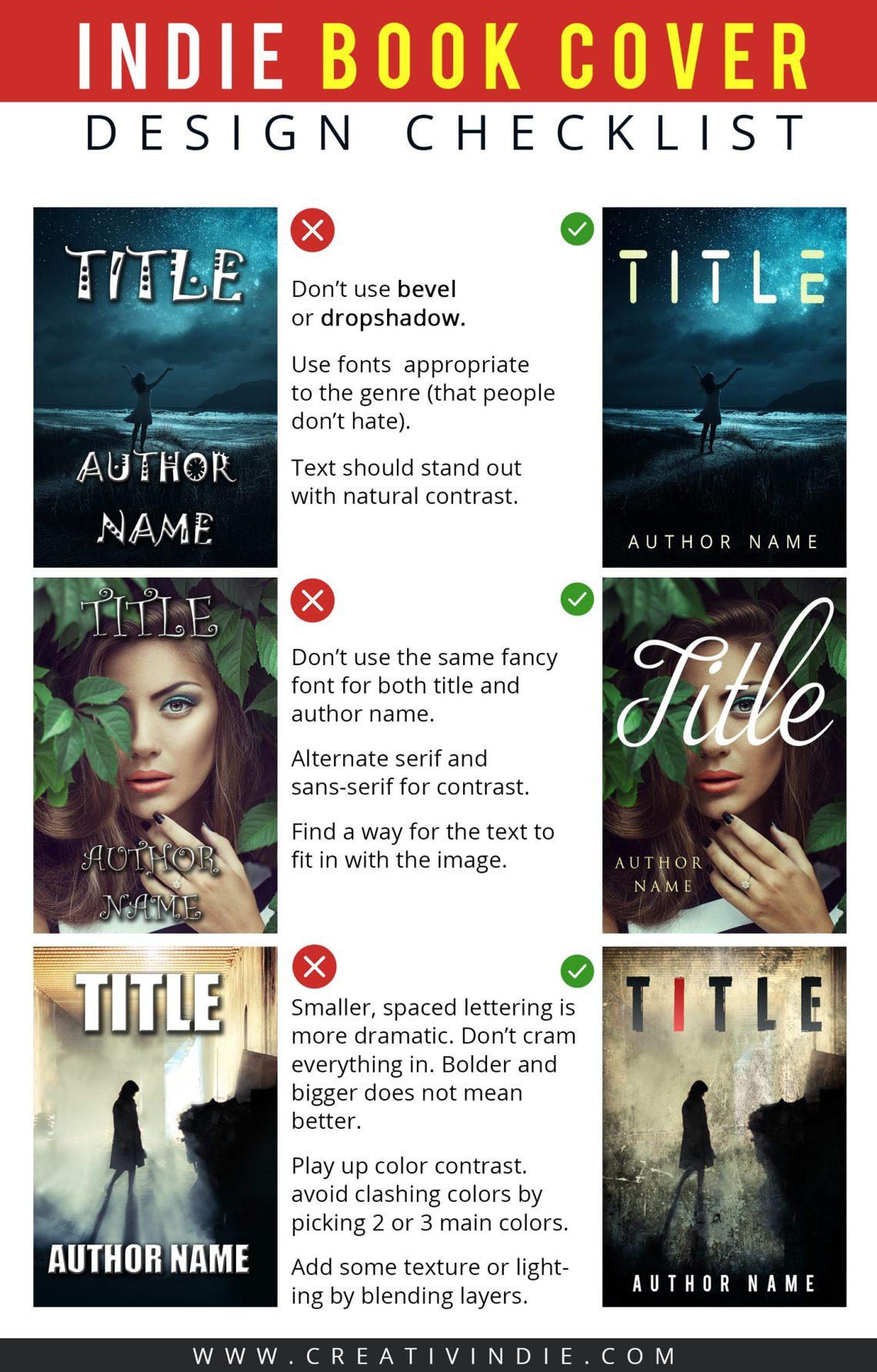 how to make a book cover design
