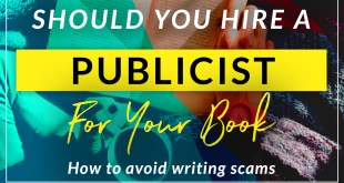 book publicist and promotion
