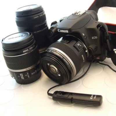 My New Investment: A new DSLR Camera