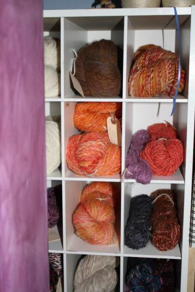 My Stash of Handspun…