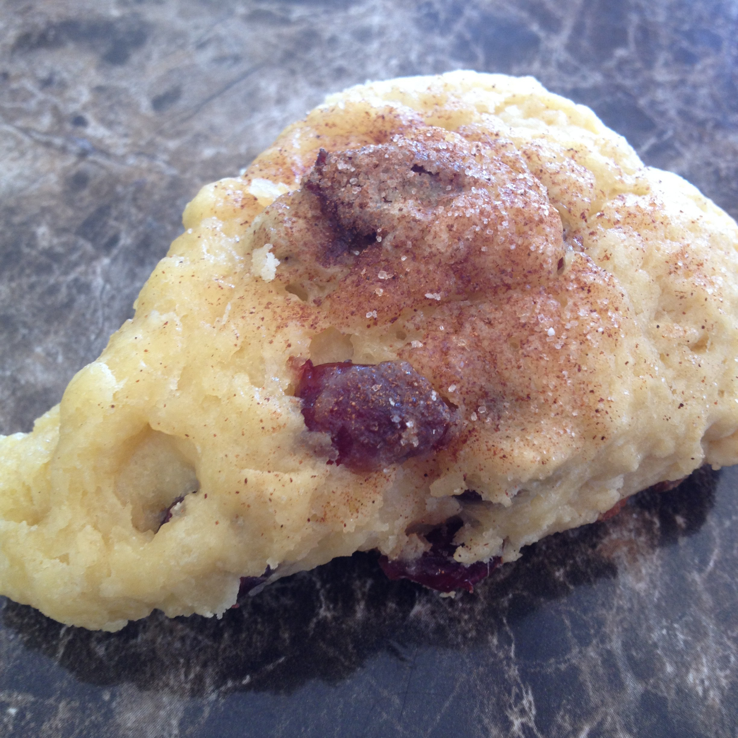 Test Kitchen:  Cranberry Orange Scones