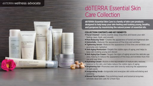 doTERRA Essential Skin Care Collection:  SLS-Free