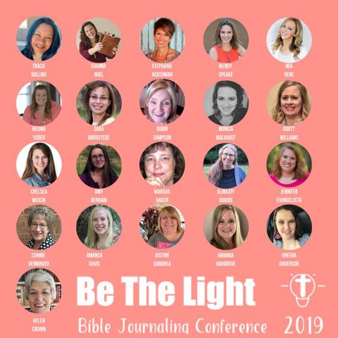 Be the Light Bible Journaling Conference October 16-18.
