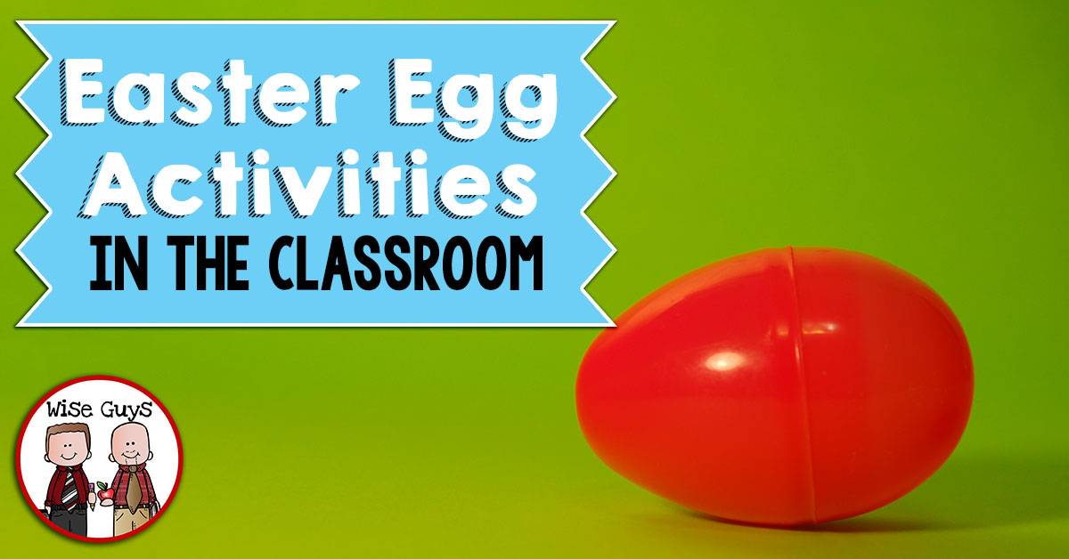 Easter Eggs open the door to a wealth of activities! Here's several ideas for using easter eggs in the classroom, for every subject!