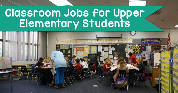 Classroom Job Ideas Elementary : Classroom jobs for upper elementary students wise guys
