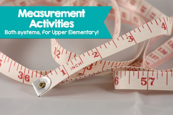 Cover both measurement systems and solidify your students' understanding with these fun measurement activities for upper elementary.