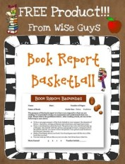 Here is a free basketball themed book report.