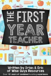 This first year teacher ebook will help new teachers with back to school ideas and tips for the whole school year.