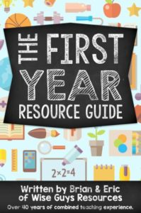 first year teacher resource activity guide
