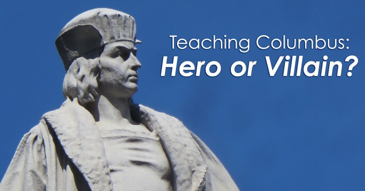 Christopher Columbus – was he a great guy and total hero, or was he downright horrible and a villain? Here's some ideas for broaching the subject of Christopher Columbus in the upper elementary classroom!