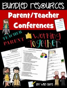 Here are some parent teacher conference tips and resources to use for elementary conferences.